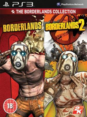 Borderlands 1 EDICIÓN DE JUEGO DEL AÑO Mas Borderlands 2 Ultimate Edition Ps3