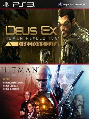 Deus Ex Human Revolution Directors Cut Mas Hitman Trilogy HD PS3