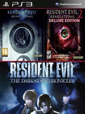 Resident Evil Revelations Mas Resident Evil Revelations 2 Deluxe Edition Mas Resident Evil The Darkside Chronicles PS3