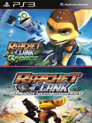 Ratchet & Clank QForce Mas Ratchet & Clank Armados hasta los dientes PS3