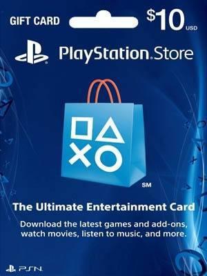 PSN CARD 10 USD