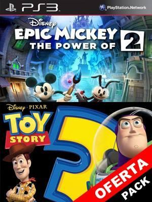 Disney Epic Mickey 2 The Power of Two Mas Toy Story 3: The Video Game