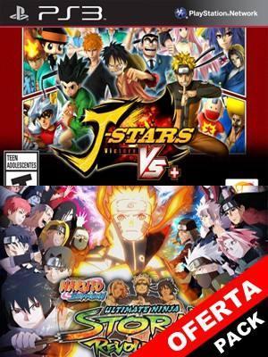 2 juegos en 1 J STARS VICTORY VS  NARUTO SHIPPUDEN ULTIMATE NINJA STORM REVOLUTION