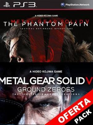 METAL GEAR SOLID V: THE PHANTOM PAIN + Metal Gear Solid V Ground Zeroes PS3