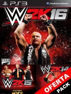 WWE 2K14-15-16