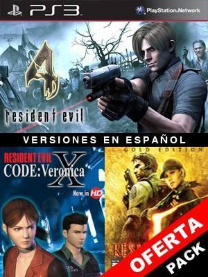 Resident Evil 4 Mas RESIDENT EVIL CODE: Veronica X Mas RESIDENT EVIL 5 GOLD EDITION