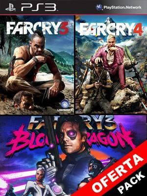 3 JUEGOS EN 1 Far Cry 3 Mas Far Cry 4 Mas Far Cry 3 Blood Dragon