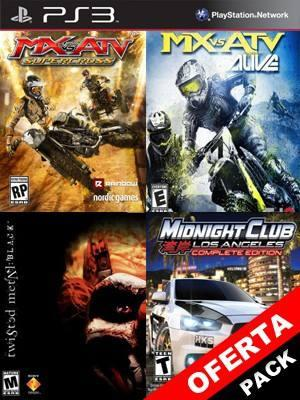 MX vs. ATV Supercross Mas MX vs ATV Alive Mas Twisted Metal Black Mas Midnight Club Los Angeles Complete Edition