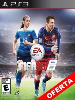 FIFA 16 PS3 Incluye Pase En Linea