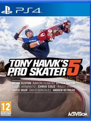 Tony Hawks Pro Skater 5 PS4 PRIMARIA