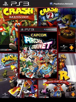 CRASH COLLECTION EN ESPAÑOL  Mas CAPCOM ARCADE CABINET Pack PS3