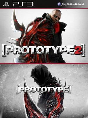 PROTOTYPE 1 Mas Prototype 2 Gold Edition PS3
