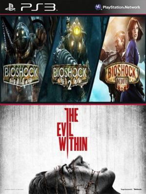 BIOSHOCK TRILOGY PACK Mas The Evil Within PS3