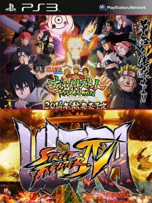 NARUTO SHIPPUDEN Ultimate Ninja STORM Revolution Mas Ultra Street Fighter IV PS3