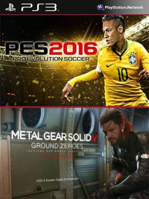 Pro Evolution Soccer 2016 mas METAL GEAR SOLID V GROUND ZEROES PS3