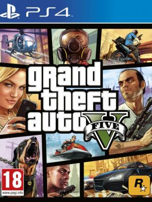 Grand Theft Auto 5 (GTA V) GTA 5 PS4 primaria