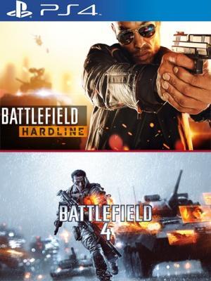 2 EN 1 Battlefield Hardline MAS Battlefield 4 EN ESPAÑOL PS4