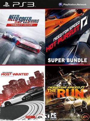 4 juegos en 1 Need for Speed Rivals: Edición Completa mas NFS Hot Pursuit Super Bundle mas Need for Speed Most Wanted mas  DE NEED FOR SPEED THE RUN