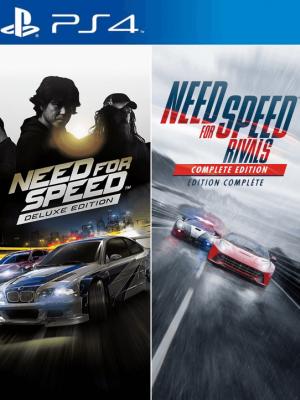2 juegos en 1 Need for Speed Edition Deluxe PS4