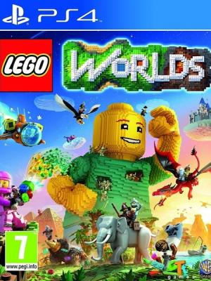 LEGO  Worlds ps4 primaria