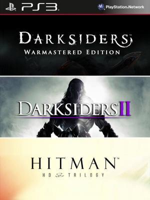3 juegos en 1 Darksiders mas Darksiders II mas Hitman Trilogy HD PS3