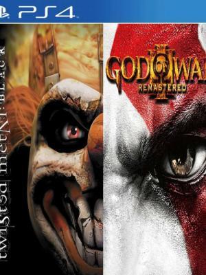 God of War III Remastered Mas Twisted Metal Black PS4 PRIMARIA