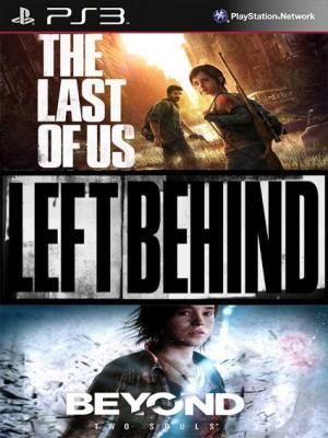 3 JUEGOS EN 1 The Last of Us Edicion Juego del Año Mas BEYOND Dos almas PS3