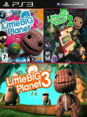 3 JUEGOS EN 1 LittleBigPlanet Mas LittleBigPlanet 2 Mas LittleBigPlanet 3 PS3