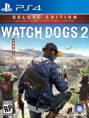 Watch Dogs 2  Edición Deluxe Ps4