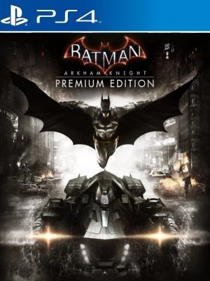 Batman Arkham Knight Premium Edition mas Pase de Temporada Ps4