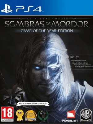 Middle earth Shadow of Mordor Game of the Year Edition PS4 PRIMARIA