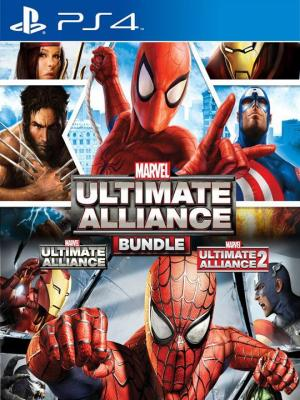 2 juegos en 1 Marvel: Ultimate Alliance Bundle Ps4 Primaria
