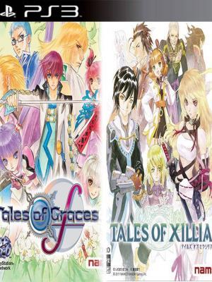 2 juegos en 1 Tales of Graces f mas Tales of Xillia  Ps3