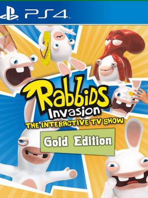 RABBIDS INVASION - GOLD EDITION ps4 Primaria
