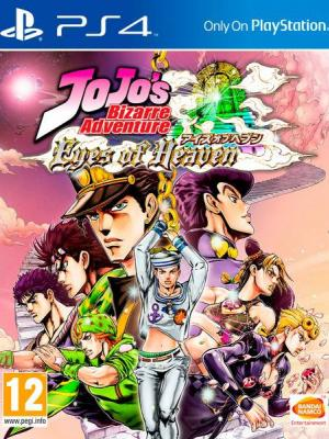 JoJo's Bizarre Adventure: Eyes of Heaven Ps4 Primria