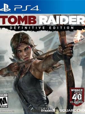 Tomb Raider: Definitive Edition PS4 PRIMARIA