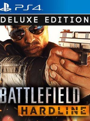BATTLEFIELD HARDLINE DELUXE EDITION PS4 Primaria