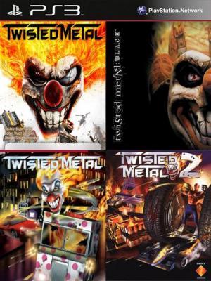 4 JUEGOS EN 1 Twisted Metal Twisted Metal Black Twisted Metal (PSOne Classic) Twisted Metal 2 (PSOne Classic) PS3