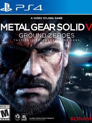 Metal Gear Solid V: Ground Zeroes PS4 PRIMARIA
