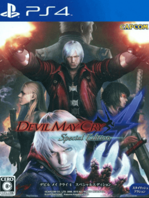 Devil May Cry 4 Special Edition PS4 PRIMARIA