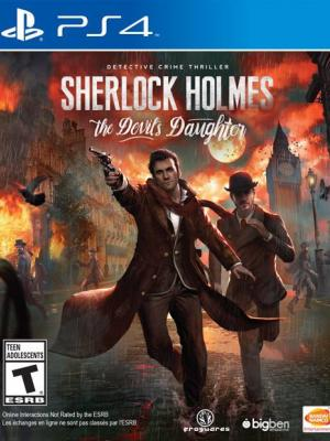 Sherlock Holmes : The Devil's Daughter PS4