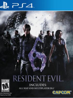 RESIDENT EVIL 6 PS4 Primaria
