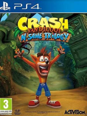 Crash Bandicoot N. Sane Trilogy PS4 PRIMARIA