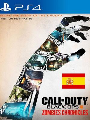 Call of Duty Black Ops III Zombies Chronicles DLC Region España PS4 Primaria