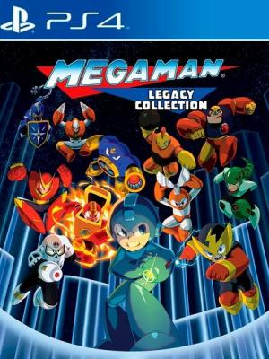 6 juegos en 1 Mega Man Legacy Collection Ps4 Primaria