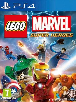 LEGO Marvel Super Heroes PS4 PRIMARIA