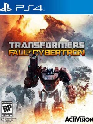 TRANSFORMERS: La Caída de Cybertron PS4