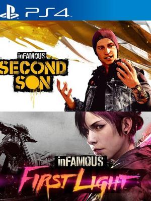 inFAMOUS Second Son + inFAMOUS First Light PS4 FULL ESPAÑOL PRIMARIA
