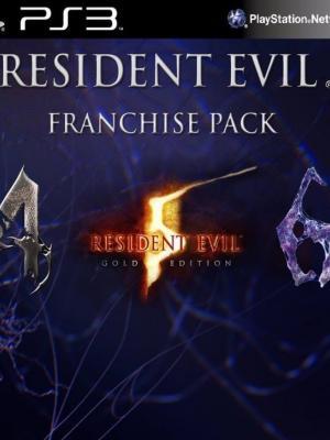 3 juegos en 1 Resident Evil Franchise Ps3
