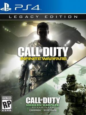 2 juegos en 1 Call of Duty : Infinite Warfare - Legacy Edition PS4